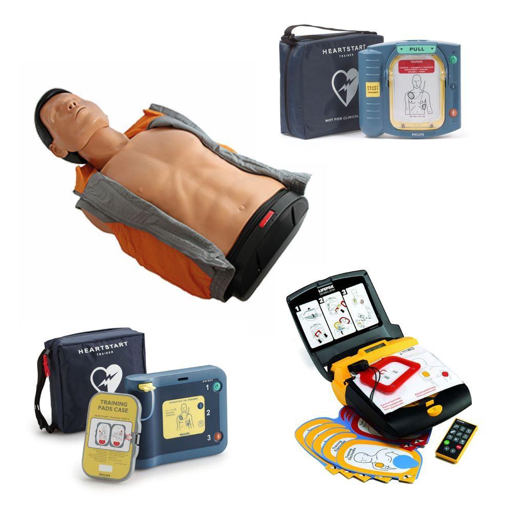 Ausbilderset AmbuMan Basic mit AED-Trainer