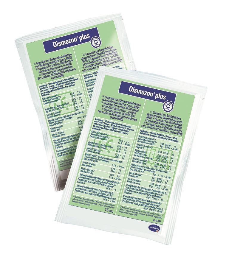 Dismozon plus, Pack a 100 Dosierbeutel a 16 g