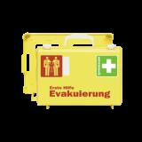 Erste Hilfe Koffer Evakuierung