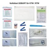 Notfallset GEBURT / Abnabelungsbesteck für KTW/RTW