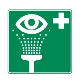 Rettungszeichen Augenspüleinrichtung nachleuchtend