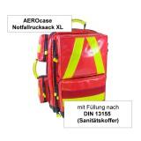 AEROcase Notfallrucksack XL mit Füllung DIN 13155