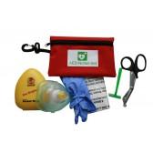 Notfallset AED mit Karabinertasche