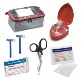 Notfallset AED mit Klarsichttasche